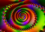 Rainbow Spiral II by FlyingMatthew