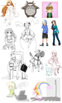 Summer 2014 Sketches by Lubrian