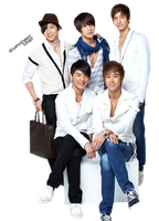 TVXQ (DBSK + JYJ) PNG by euphoriclover