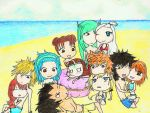 A Day at the Beach by We-Howl-at-the-Moon