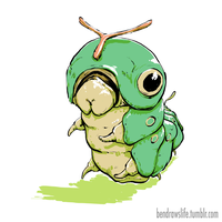 Caterpie by bensigas