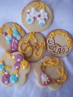 Assorted Jewlery Cookies by eckabeck