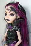 Raven Queen Ever After Custom Doll 2 by AdeCiroDesigns