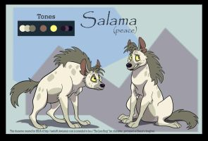 Salama daughter of Shenzi by FablePaint