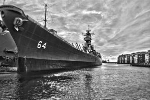USS Wisconsin by briandh76