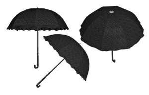 Steampunk/Gothic Umbrella PNG Stock by Roys-Art