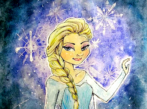 Frozen: Elsa by pound-key
