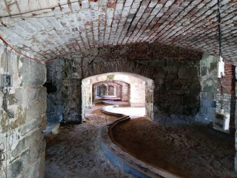Fort Monroe Casemates by usedbooks