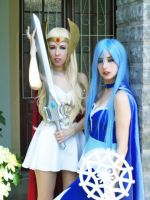 She-ra and Frosta by lulysalle