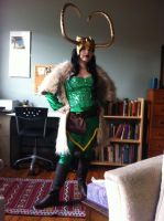 Lady Loki by teensiest