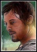 Walking Dead Daryl by RandySiplon