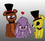 Uh Bonnie Don't Look Up AKA Chica and Foxy's RVNG by DADERPSTER