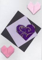 Floating heart card by Charmed-Ravenclaw