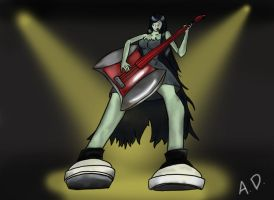 Marceline ROCKS! by Just-Me143
