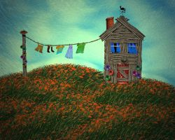 My Summer Cottage by rabbitica