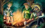 Greenshadow Campfire-2 by TheCreationist