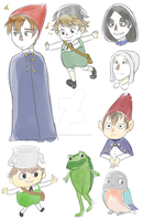 Over The Garden Wall by allbuffeatmeat