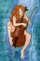 my favorite cellist by rerekina