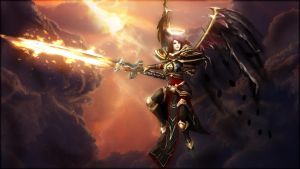 Crimson Elite Kayle by blackriderrom