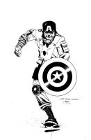 WW2 Captan America Auction by Inkpulp