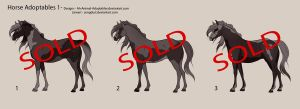 Horse Point Adoptables 3 -CLOSED- by Ah-Animal-Adoptables