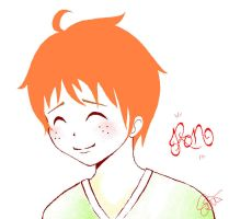 Ron Weasley by a-nao