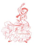 flamenco jessie by briannacherrygarcia