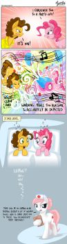 Pinkie and Cheese Sandwich Alternate Version by mysticalpha