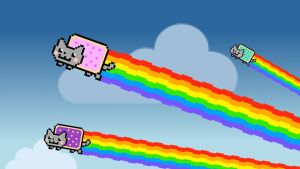 Nyan Cats Are Go! by Jayro-Jones