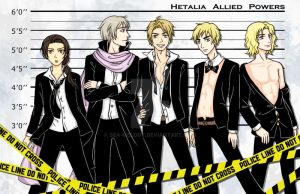 Hetalia Allies Lineup by sea-melody