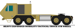 Heavy Expanded Mobility Tactical Truck 5th Wheel by mcspyder1