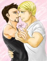 marvel: steve x tony 7 by hayatecrawford