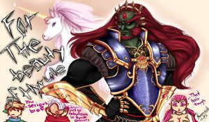 Ganondorf - Damn so fabulous by Ian-Morganshield