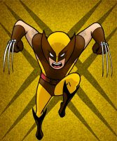 Wolverine HeroTOON by AlanSchell