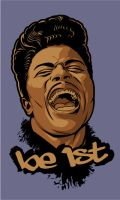 Be 1st Little Richard by Cloxboy