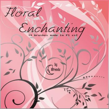 Flora Enchantig I Brushes by Coby17