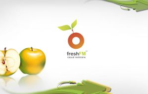 logo for FreshFM by Bertolu4y
