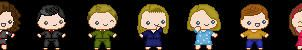 The Nanny Pixel Icons by TheWritingDragon
