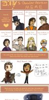 Character Obsession Meme by ThisBirdTooHasFlown