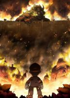 Attack on titan Bowser by SuperCaterina