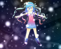Light of Space .:UTAUloid ART:. by RedGelOh
