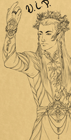 Thranduil - King of Spring WIP by nightmarez0mbie