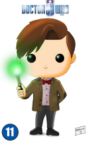 11th Doctor - Pop Card by armalarm