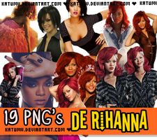Pack PNG Rihanna by KaTuMV