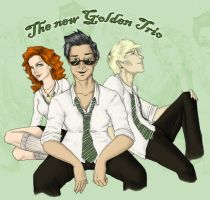 The New Golden Trio - color by BabyPocho