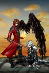 Taste your defeat, Sephiroth by KorNaXon