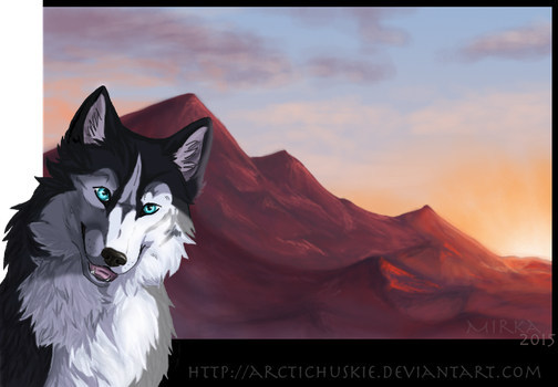 Time To Smile Again by ArcticHuskie