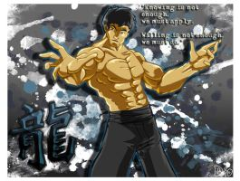 Bruce Lee - The Legend by megachaos