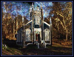 Church at State Park by Curim