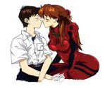 Shinji and Asuka: Romance by gojera